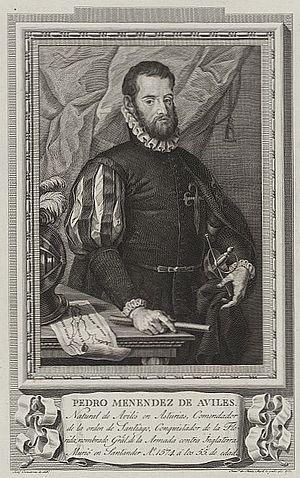 Menéndez de Avilés, Pedro