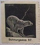 Pelz-Nitsche, Schnurgasse (Werbemarke).jpg