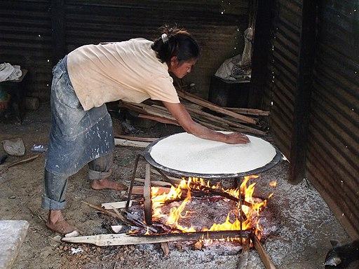 platos típicos del Amazonas: Casabe
