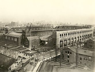 Franklin Field - Franklin Field upon completion in 1922.