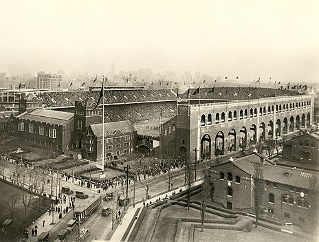 Franklin Field was the Eagles home field from 1958 to 1970 Penn - Franklin Field - 1922.jpg