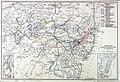 Carte de Pennsylvania Railroad, 1899