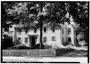 Hingham, Massachusetts - Perez Lincoln House, c. 1640, North Street, Hingham