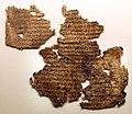 Pergamena con frammento dell'odissea (IV 639-663), III-IV secolo dc (PSI 1563).jpg