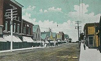 Pittsfield, Maine - Image: Perkin's & Vickery Blocks, Pittsfield, ME