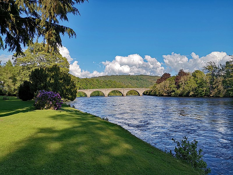 Dunkeld (Perth & Kinross, Scotland, UK)