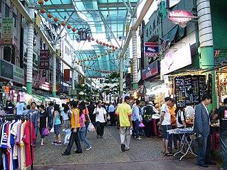 Petaling Street - Image: Petaling Street Shops