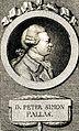 Peter Simon Pallas. Line engraving by J. C. Krüger. Wellcome V0004436.jpg