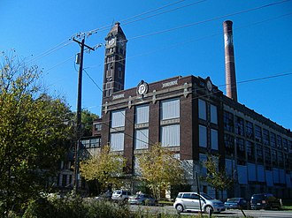 Hamilton Township, Warren County, Ohio - Part of the former Peters Cartridge Company complex
