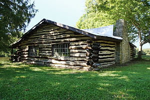 Union Township, Clermont County, Ohio - Pfarr Log House