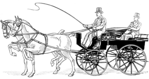 Kamo (Bolshevik) - Picture of a typical phaeton, used in the robbery