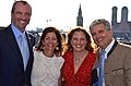 Philip D. Murphy, Tammy Snyder Murphy, Christina Tribble, and Conrad Tribble in Munich, July 2012.jpg