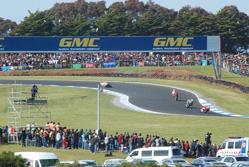 Phillip Island Circuit MG corner
