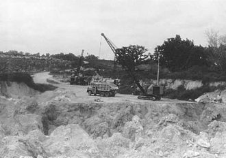Phosphate mining in Nauru - Phosphate mining in Nauru.