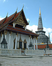 Phra Boromathat Chedi or Phra That Nakhon, Nakhon Si Thammarat Province