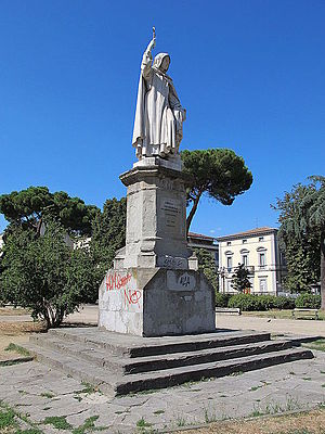 Enrico Pazzi - Monument to Savonarola, Florence