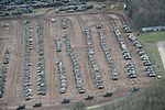 Pictured are hundreds of armoured and support vehicles during Exercise TRACTABLE 2016. MOD 45159580.jpg