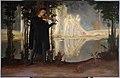 Pieśń wieczorna (Evening song), painting by Anna Berent (1871-1944).jpg
