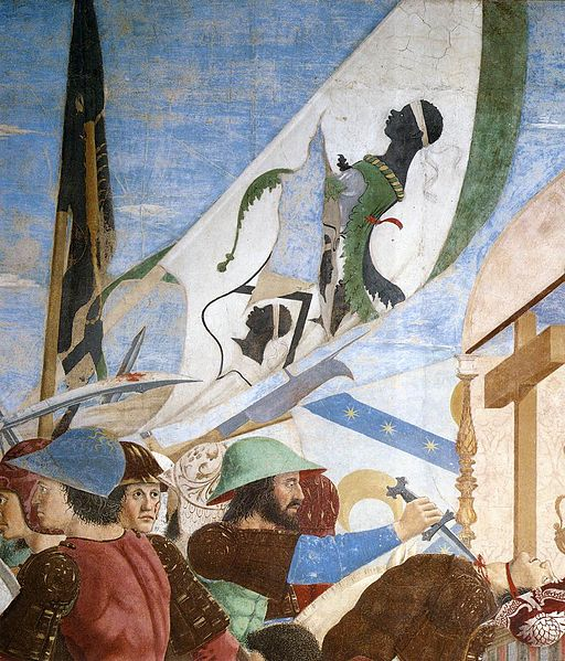 Piero della Francesca - 8. Battle between Heraclius and Chosroes (detail) - WGA17566