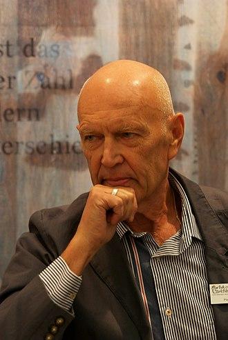 Minister for International Development Cooperation (Sweden) - Image: Pierre Schori Göteborg Book Fair 2011