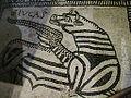 Pieve Terzagni (Pescarolo ed Uniti) - Chiesa di San Giovanni Decollato - Resti di affreschi musivi pavimentali del 1100 03.JPG