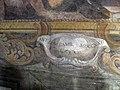 Pieve di marti, interno, affreschi di anton domenico bamberini 04 firma.JPG