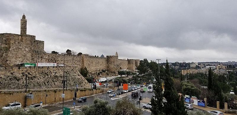 תצפית מרחבת שער יפו ירושלים