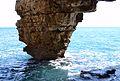 Pilar de la cova dels Arcs, Poble Nou.JPG
