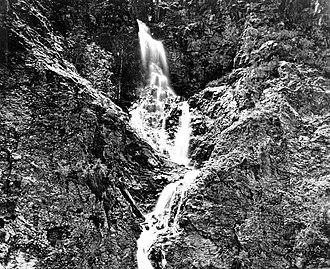 Pilling's Cascade - Image: Pilling's Cascade, Bullion Canyon. Utah. n.d. (A portion of photo no. 110a)