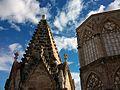 Pinacle i cimbori, catedral de València.JPG