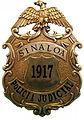Placa Antigua de la Policía Judicial de Sinaloa..jpg