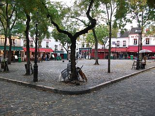 square in Paris, France