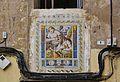 Plafó ceràmic de sant Onofre a l'antiga casa del gremi de torcedors, València.JPG