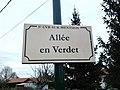 Plaque Allée Verdet St Cyr Menthon 2011-11-23.jpg