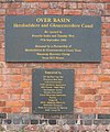 Plaque at Over Basin - geograph.org.uk - 61905.jpg