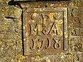 Plaque at St. Mary and St. John, Lamyatt - geograph.org.uk - 492679.jpg