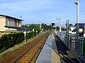 Platform of Tenno Station.jpg