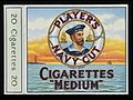 Player's Cigarettes packet Wellcome L0040515.jpg