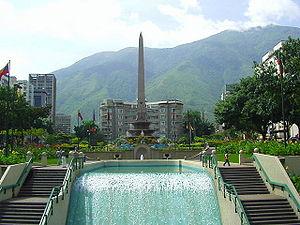Chacao Municipality - Plaza Francia at Altamira neighborhood