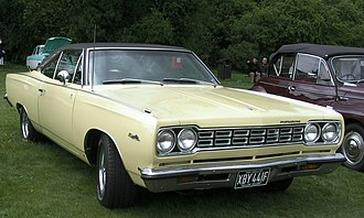 Plymouth Satellite - 1968 Plymouth Satellite hardtop
