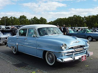 Plymouth Belvedere - 1954 Plymouth Belvedere four door sedan