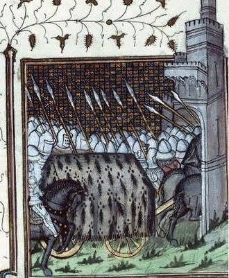 John III, Duke of Brittany - The funeral of John III