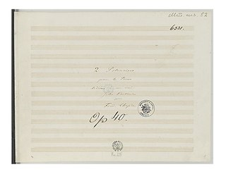 Polonaises Op. 40 (Chopin) Composition by Chopin