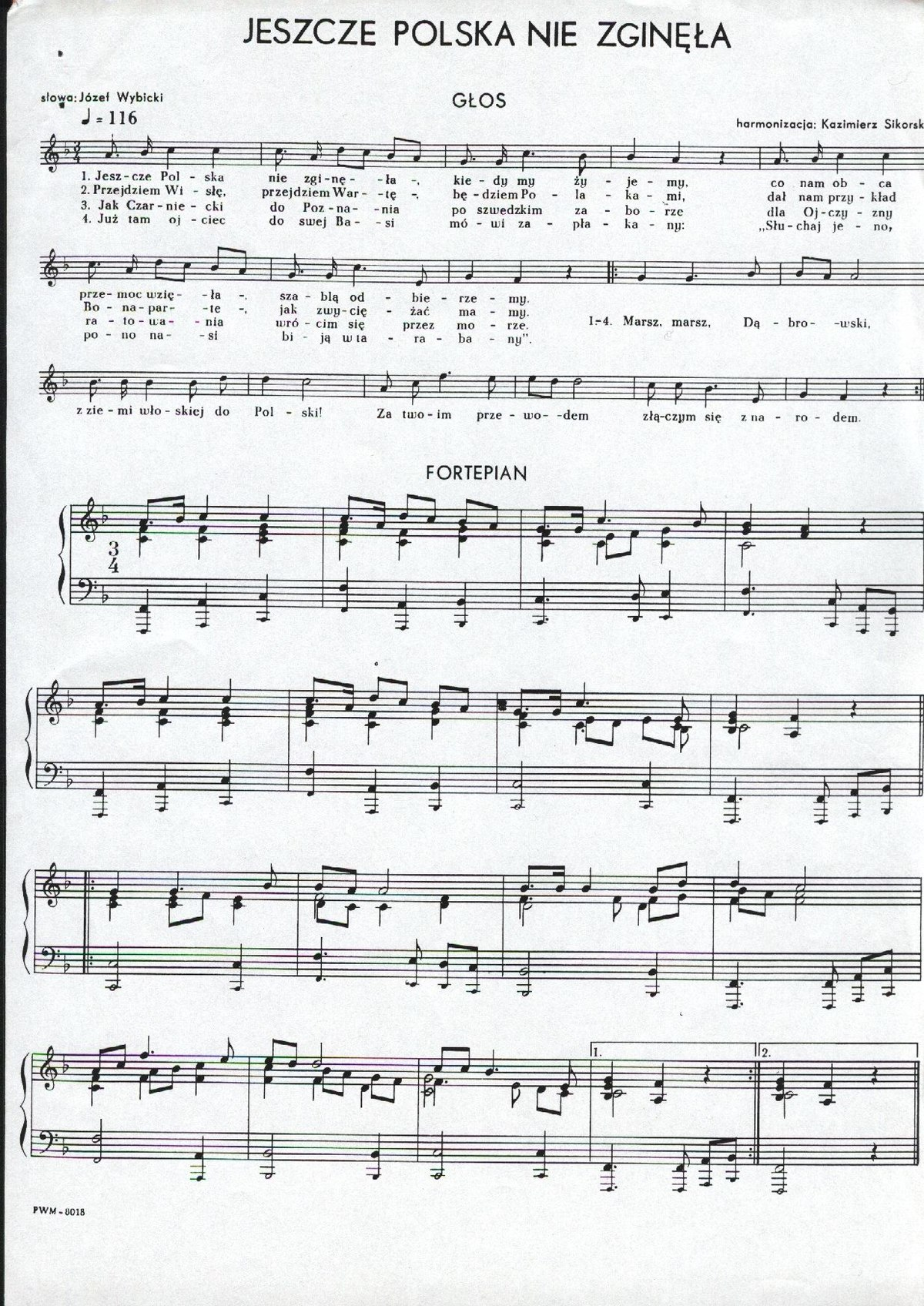 photo regarding Lost Boy Piano Sheet Music Free Printable referred to as Poland Is Not Nonetheless Missing - Wikipedia