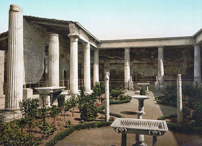 Pompeji um 1900 haus