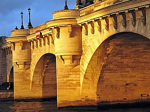 Pont Neuf - Pont Neuf at sunset.