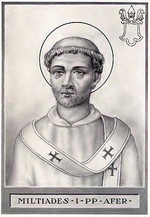 Pope Miltiades - Image: Pope Miltiades