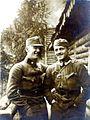 Poročnik Peter Vidmar in praporščak Franc Horvat.jpg