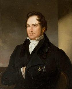 Erik Gustaf Geijer från en målning av Karl Vilhelm Nordgren.