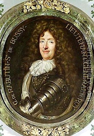 Roger de Rabutin, Comte de Bussy - Image: Portrait Of Count Roger Bussy De Rabutin 1618 93